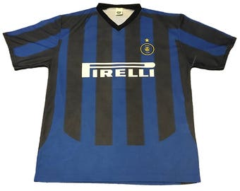 Vintage Inter Milan Javier Zanetti Jersey