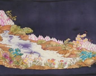 "picture silk painting ""slice of Japan"""