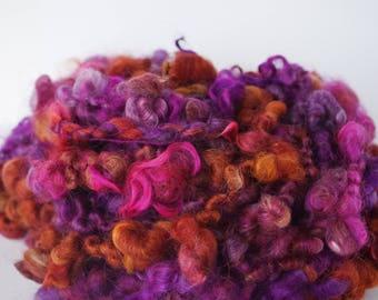 """Art Boucle Handspun Yarn/ Art Yarn/ Super Bulky Yarn/ """"Cosmos"""""""