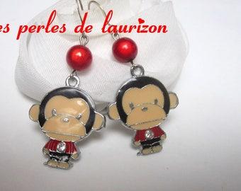 These earrings my little monkey