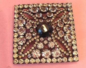 Robert Sorrell exceptional rhinestone pin