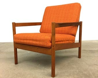 Danish Modern | Teak Lounge Chair by Magnus Olesen | Mid Century