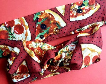 Pizza Wire Headband - Pin Up Hair Wrap