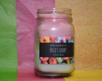 Fruit loopz scented candle