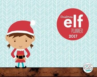 Complete Girl Elf Planner, Updated for 2017, Instant Digital Download