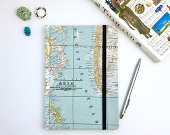 map journal etsy