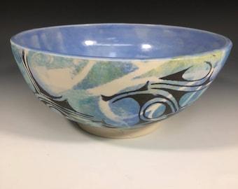 Watercolor layered bowl