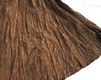 Indian skirt, gypsy skirt, bollywood skirt, belly dance midi skirt, traditional skirt, Boho skirt, bohemian skirt