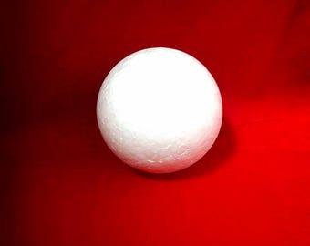75mm polystyrene ball.
