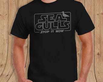 Seagulls Stop it Now T Shirt - Gifts for him