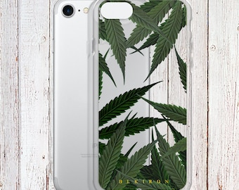 Clear Phone Case - Sweet Leaf Phone Case - weed phone case - iPhone Regular case
