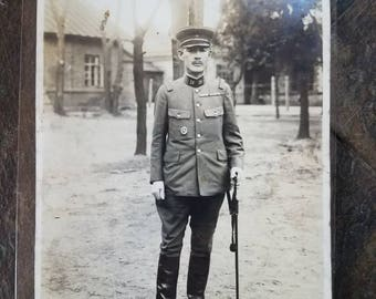 WWII Japanese General Photo - Named