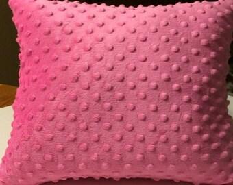 15% Sale Minky Pillow, Minky Toddler Pillow, Minky Travel Pillow, Travel Pillow, Toddler Bedding, Nursery