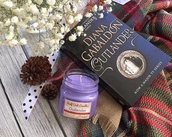 Outlander Soy Candle - 8 oz Jar
