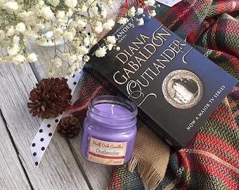 Outlander Soy Candle - 8 oz Jar