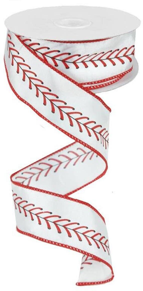 1.5 Baseball Band RG1798 rot schwarz weiß Baseball Band