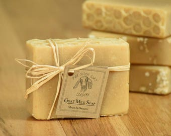 Honey Oatmeal Goat Milk Soap, Goat Milk Soap Bars, Goat Milk Soap Gifts