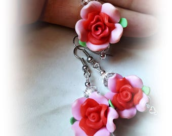 Jewelry set * rose * pink