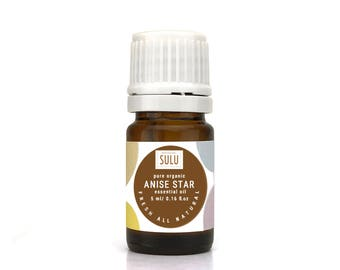 Pure Organic High Quality Therapeutic Grade Anise Star Essential Oil