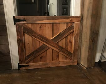 Barn Door Style Baby Or Pet Gate