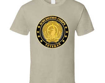 Army - Acquisition Corps Veteran - T-shirt