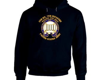 Army - 2nd Bn, 7th Infantry - Willing And Able Hoodie