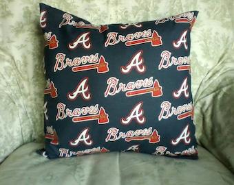 Atlanta Braves pillow cover