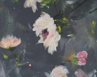 Dark Dusk Original Acrylic hand painting on Canvas.