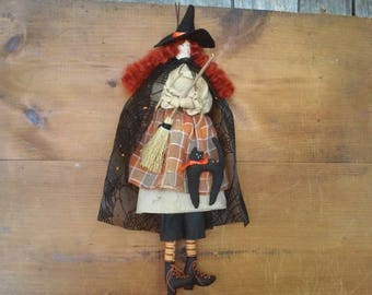 Primitive Halloween Witch