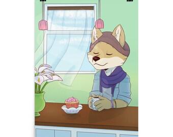 Coffee Break Matte Print