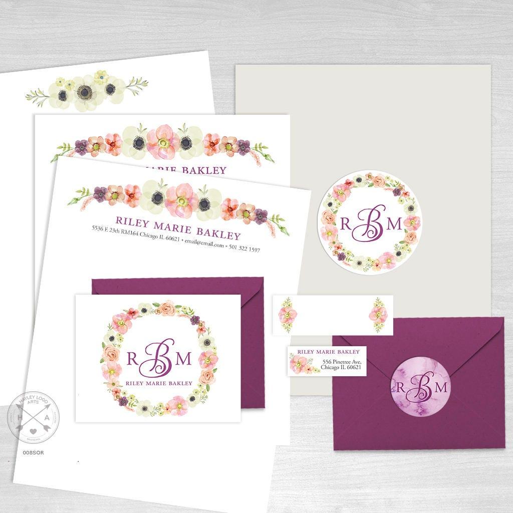 sorority recruitment packet  maxi pack  personal branding kit
