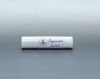 Peppermint Lip Balm, Essential Oils, Health, Herbal, Natural