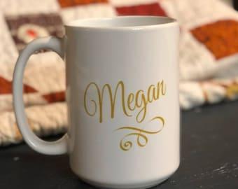 Personalized mug, Bridesmaid mugs, custom gifts, gift item, coffee mug, gift for her, teacher gift