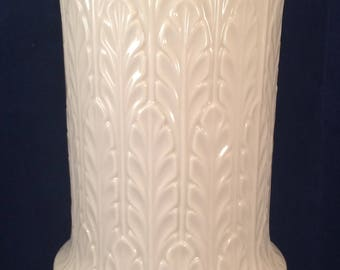 "Lenox China Autumn Leaf 9 1/2"" tall vase"