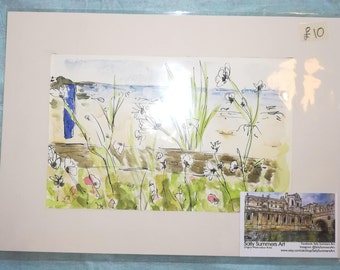 St Ives Original Watercolour