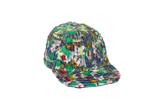 upcycling reflection baseball cap