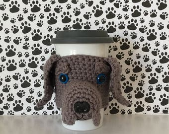 Weimaraner Gifts, Weimaraner Mug (Cozy), Weimaraner Mom, Weimaraner Dog, Weimaraner Christmas, Crazy Dog Lady, Best Dog Gift, Dog Mom Gift