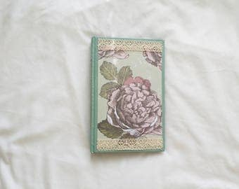 Delicate Floral Handmade Journal