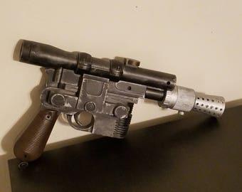 Repainted Rubies DL-44 Han Solo Blaster