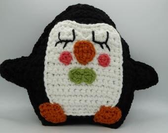 Penguin Rag Doll, Amigurumi Penguin, Crochet Penguin, Rag Doll Amigurumi, Stuffed Penguin, Penguin Plush, Penguin Pillow, Cute Penguin Toy
