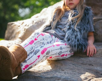 The Fur Vest; Kids Baby Toddler Grey Faux Fur Vest with Arrow Lining
