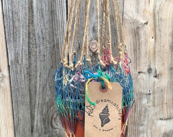 One of a Kind Handmade Rainbow Tie-Dye Plant Hanger- 1 tree is planted with every purchase