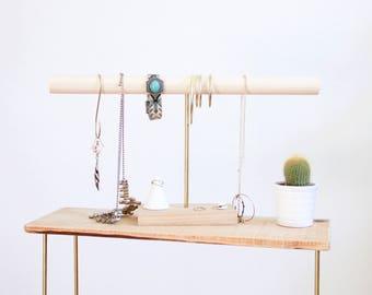 Bracelet Stand - Jewelry Organizer / Jewelry Holder - Jewelry display - Jewelry stand - Gift for her - Jewelry storage - Necklace holder