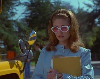 Kurt Cobain Style Sunglasses, 90s tinted round sunglasses
