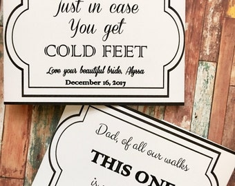 Special Sayings on Socks for your wedding day - Father of the Bride Socks - Future Groom socks