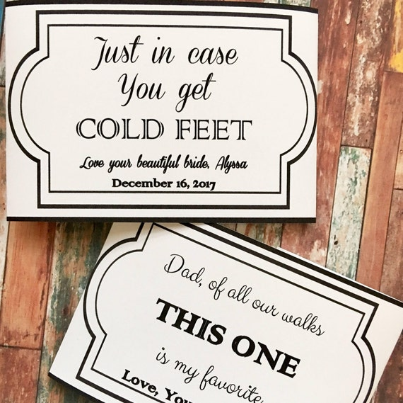 On Your Wedding Day Surprise Your Dad With This Special: Special Sayings On Socks For Your Wedding Day Father Of The