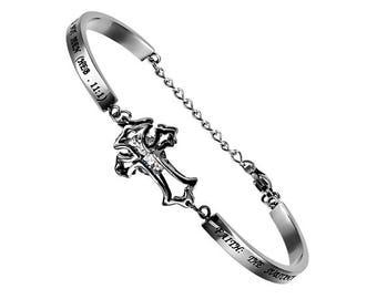"""Cross Bracelet """"Faith"""""""