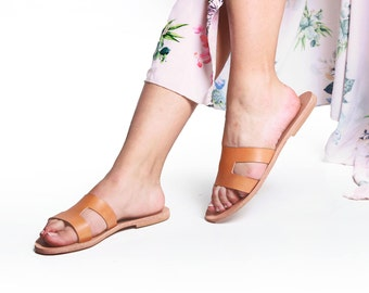 Women Greek leather sandals, roman sandals, Hermes sandals, Handmade Sandals, leather sandals,  High Quality, Genuine Leather
