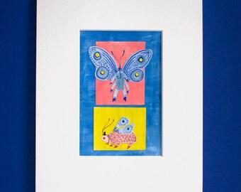 Original Butterfly Wall Art
