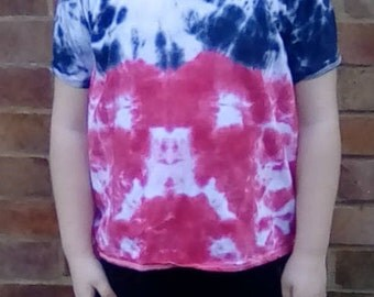 Hippy Tshirt, Tie Dye T-shirts, Kid's Shirts, Gift for Boys, Gift For Girls, Hippy Clothing, Hippy Gifts, Hippy Kids, Flower Child